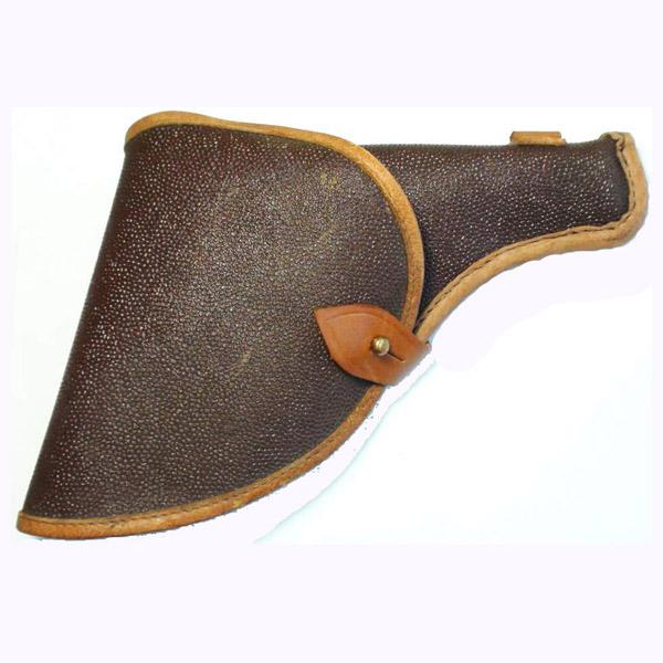 Настоящая армейская поясная кобура для револьвера Нагана.